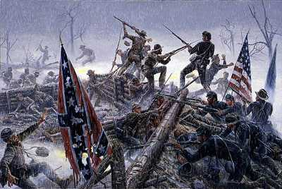 Bloody Angle by Mort Kunstler Pricing Limited Edition Print image