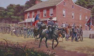 Distant Thunder by Mort Kunstler Pricing Limited Edition Print image