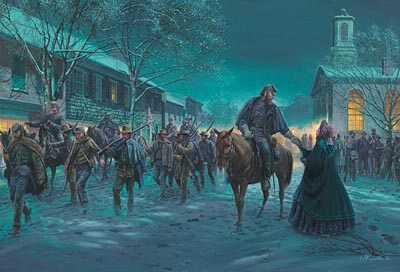A Fleeting Moment by Mort Kunstler Pricing Limited Edition Print image