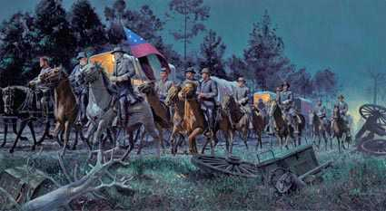 Lee Takes by Mort Kunstler Pricing Limited Edition Print image