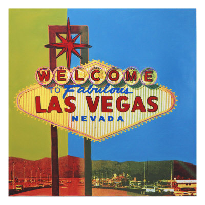 Welcome To Las Vegas by Steve Kaufman Pricing Limited Edition Print image