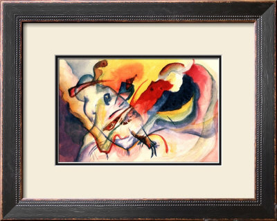 Aquarelle Sans Titre by Wassily Kandinsky Pricing Limited Edition Print image