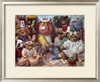 Teddy Bear Wear by Janet Kruskamp Pricing Limited Edition Print image