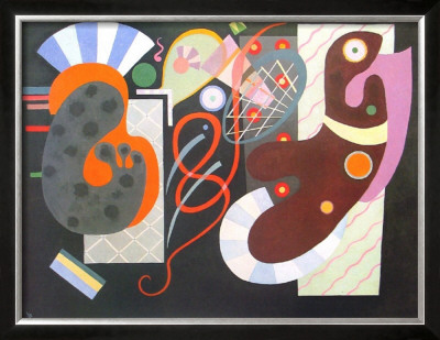 Noeud Rouge, 1936 by Wassily Kandinsky Pricing Limited Edition Print image