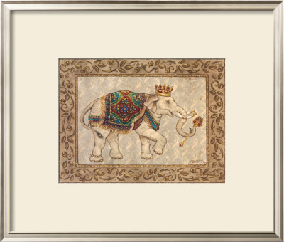 Royal Elephant I by Janet Kruskamp Pricing Limited Edition Print image