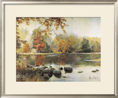 Autumn Reflections by Vernon Kerr Pricing Limited Edition Print image