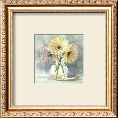 Lemon Sherbert Gerbera by Mary Kay Krell Pricing Limited Edition Print image