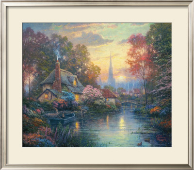 Nanette's Cottage by Thomas Kinkade Pricing Limited Edition Print image