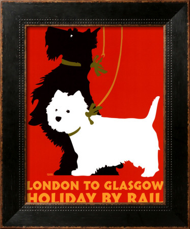 Holiday By Rail by Johanna Kriesel Pricing Limited Edition Print image