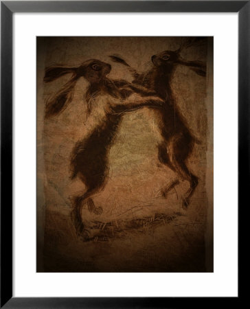 Hare Boxing by Tim Kahane Pricing Limited Edition Print image