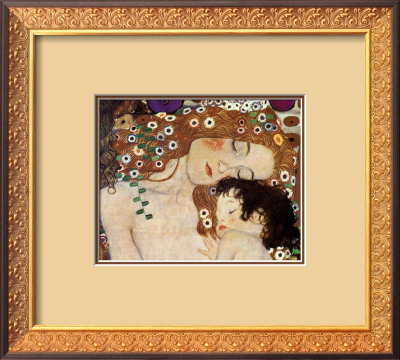 Mother & Child by Gustav Klimt Pricing Limited Edition Print image
