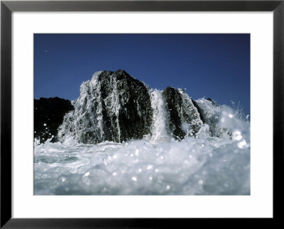 Atlantic Wave Washing Over Rock, County Cork, Ireland by Paul Kay Pricing Limited Edition Print image