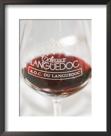 Wine Tasting Glass, Coteaux Du Languedoc, France by Per Karlsson Pricing Limited Edition Print image