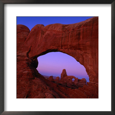 Windows Arch, Arches National Park, Ut by Kyle Krause Pricing Limited Edition Print image