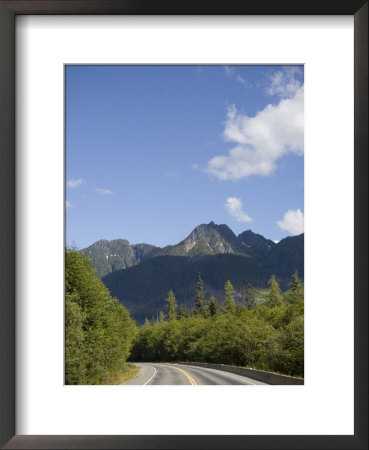 Highway Winds Through The Mountains Of Vancouver Island by Taylor S. Kennedy Pricing Limited Edition Print image