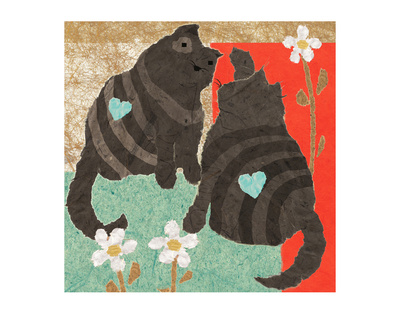 Grey Kittens by Penny Keenan Pricing Limited Edition Print image