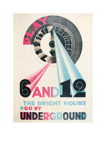 The Bright Hours, C.1931 by Edward Mcknight Kauffer Pricing Limited Edition Print image