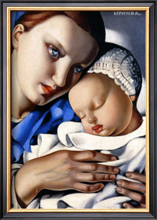 Mother And Child by Tamara De Lempicka Pricing Limited Edition Print image