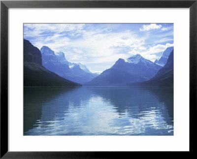 Maligne Lake, Alberta, Rockies, Canada by J Lightfoot Pricing Limited Edition Print image