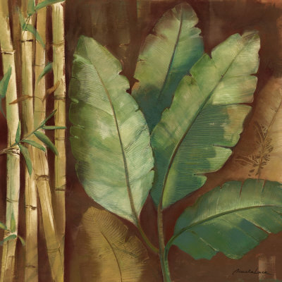 Bamboo & Palms I by Pamela Luer Pricing Limited Edition Print image