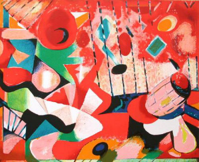 Jazz by Jacques Lagrange Pricing Limited Edition Print image