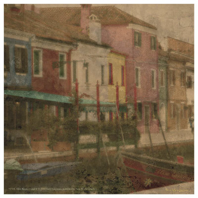 Mini Burano Canal Ii by Terry Lawrence Pricing Limited Edition Print image