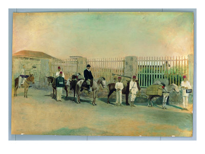 Luigi Bocconi With Ascari In Asmara by Lorenzo Lotto Pricing Limited Edition Print image