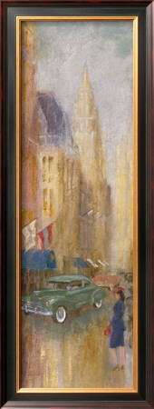Vintage New York I by Michael Longo Pricing Limited Edition Print image