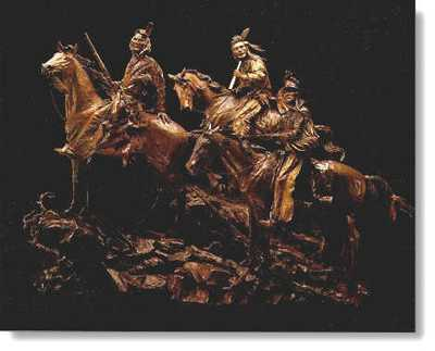 Three Chiefs by David Manuel Pricing Limited Edition Print image