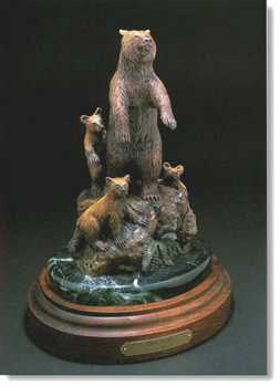 Three Bears by David Manuel Pricing Limited Edition Print image