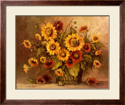 Sunflower Bouquet by Barbara Mock Pricing Limited Edition Print image