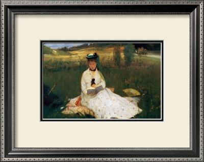 Reading by Berthe Morisot Pricing Limited Edition Print image
