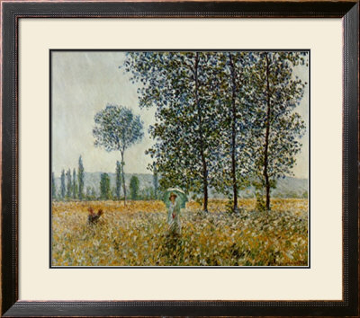 Fields In Spring by Claude Monet Pricing Limited Edition Print image