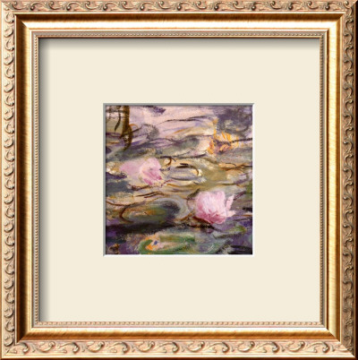 Water Lilies And Willow Branches (Detail) by Claude Monet Pricing Limited Edition Print image