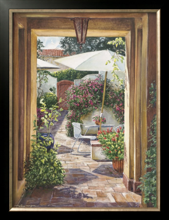 Courtyard Passage by William Mangum Pricing Limited Edition Print image