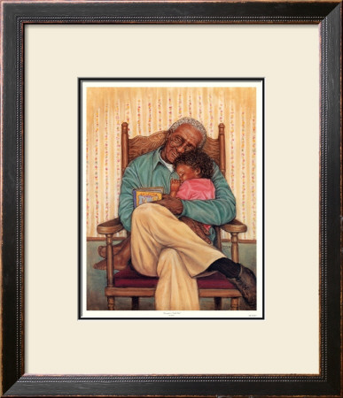 Grandpa's Little Girl by Marla Pricing Limited Edition Print image