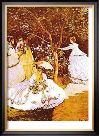 Femmes Dans Un Jardin by Claude Monet Pricing Limited Edition Print image