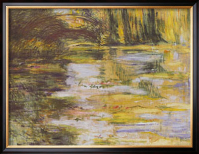 Waterlily Pond And Japanese Bridge by Claude Monet Pricing Limited Edition Print image