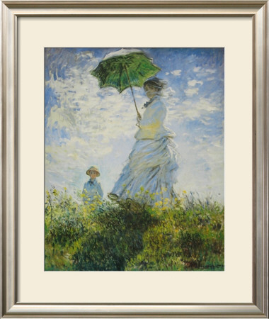 Lady With Parasol by Claude Monet Pricing Limited Edition Print image
