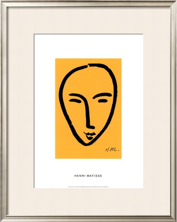 Visage Sur Fond Jaune by Henri Matisse Pricing Limited Edition Print image