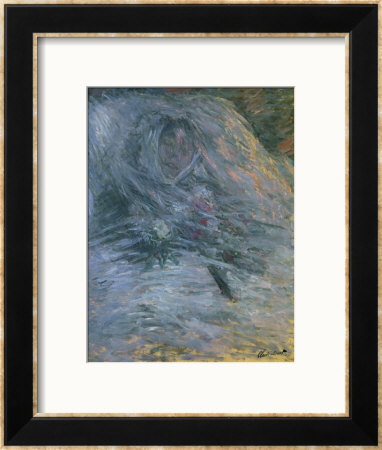 Camille Monet (1847-1879), First Wife Of The Painter, On Her Deathbed, 1879 by Claude Monet Pricing Limited Edition Print image
