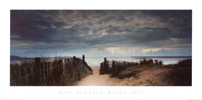 Beach Path by Mike Mcgovern Pricing Limited Edition Print image