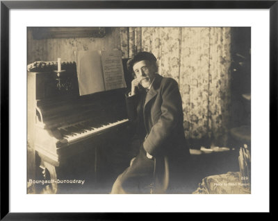 Louis-Albert Bourgault-Ducoudray French Composer And Musicologist by Henri Manuel Pricing Limited Edition Print image