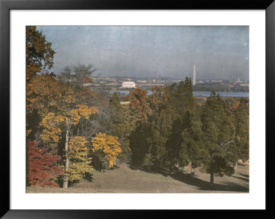 View Of Washington From Arlington National Cemetery by Charles Martin Pricing Limited Edition Print image