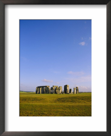Stonehenge, Ancient Ruins, Wiltshire, England, Uk, Europe by John Miller Pricing Limited Edition Print image