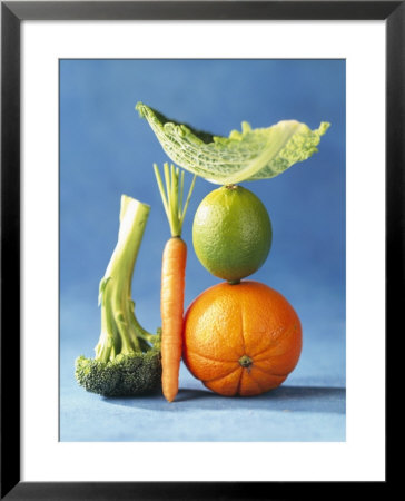 Still Life With Fruit And Vegetables by Diana Miller Pricing Limited Edition Print image