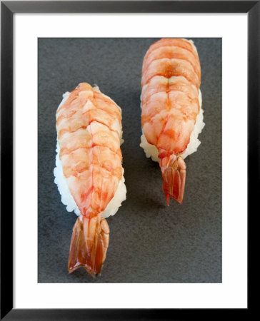 Two Nigiri-Sushi With Shrimp by Valerie Martin Pricing Limited Edition Print image
