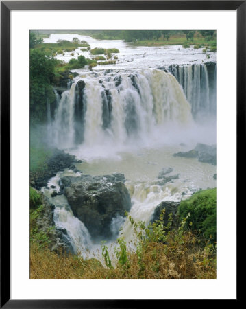 The Blue Nile, Waterfalls Near Lake Tana, Abyssinian Highlands, Gondor Region, Ethiopia, Africa by J P De Manne Pricing Limited Edition Print image