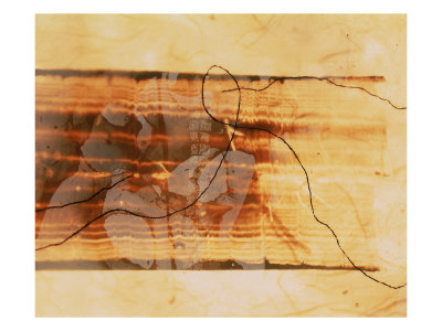 Abstract Image In Brown And Beige by Images Monsoon Pricing Limited Edition Print image