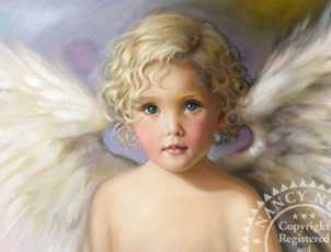 Angel Child by Nancy Noel Pricing Limited Edition Print image